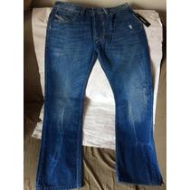 Jeans Diesel Larkee Pre-washed... Único En Mercado Libre