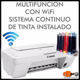 Impresora Multifuncion Canon Mg2910 Wifi Sist Continuo 800ml