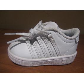 Baby Kswiss Classic Low Blancos Talla 10.5 Cm Autenticos