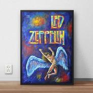 Quadro Decorativo Led Zeppelin Premium