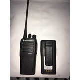 Radio Motorola Dep 450(con Cuna, Cargador, Antena Y Bateria)