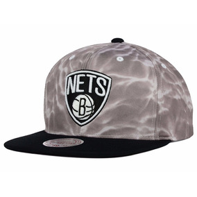 Snapback Mitchell And Ness Brooklyn Nets Colored Surf Camo