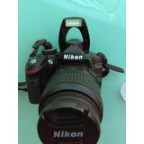 Camara Nikon D3200 Reflex