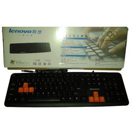 Teclado Usb Lenovo K201 Gamer Computadora Pc Lapto Nuevos