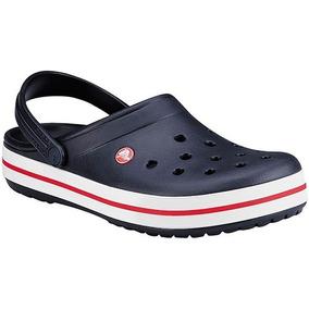 Zapatos negros Crocs Crocband para mujer cGcoM