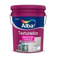 Texturado Travertino Medio Base Blanca Alba X 6 Kg