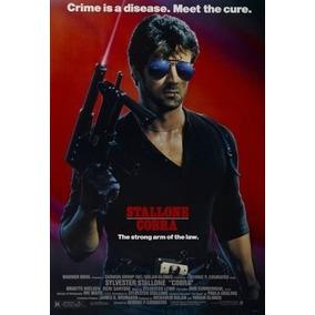 Poster Cartaz Stallone Cobra
