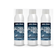 3 Gel Antisséptico Hidratante - Natu & Clean 100g