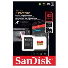 Cartão De Memória 32gb Sandisk Micro Sd Classe 10 - Full Hd