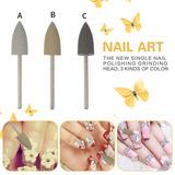 Big Head Nail Drills Set Profesional Nail Art Bits Nail