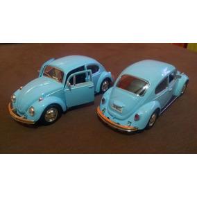 Miniatura Fusca 67 New Beetle 1:32 Metal