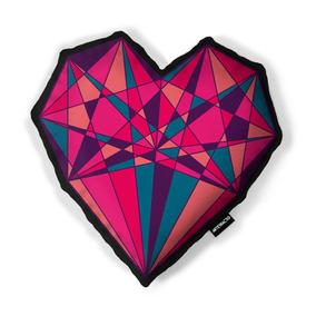 Cojín Corazón Cherry Bomb Rojo - Artefracto