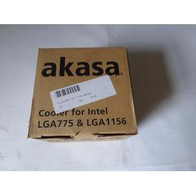 Cooler Akasa For Intel Mod Lga 775 & Lga 1156 Frete R$ 25,00