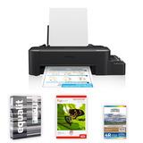 Pack Impresora Epson L120 + Resma Equalit + Papeles Foto