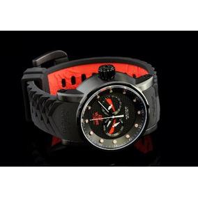 Relógio Invicta S1 Ninja 12787 Vermalho Com Preto