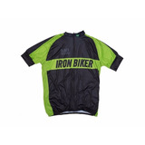 Camisa De Ciclismo Iron Biker Black Edition