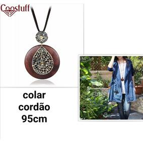 e556aa3498c7e Maxi Colar Correntes Zara 70,00 Semi Joias - Joias e Relógios no ...