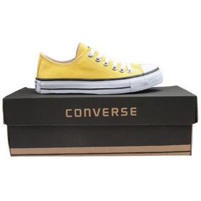 Tênis Converse All Star Ox Cano Baixo Amarelo Yellow