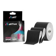 Bandagem Elástica Adesiva Fita Kinesio Aktive Tape