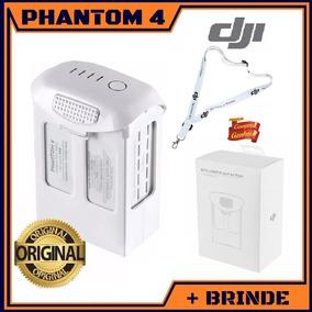 Bateria Dji Phantom 4 Pro 5870mah Original Lacrada + Brinde