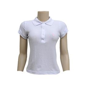b970dcbb3f Camisa Polo Branca Lisa Infantil - Pólos no Mercado Livre Brasil