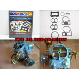 Kit De Carburador Chevrolet 350 305 2 Bocas (boca Redonda)