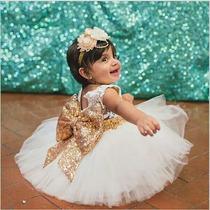 Vestido Fiesta Nena 1 A 6 Años