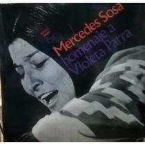 Homenaje A Violeta Parra. Mercedes Sosa. Disco Vinilo.