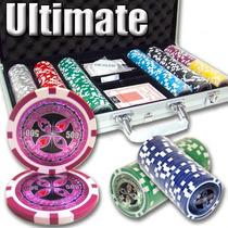 Poker Estuche 300 Fichas Casino 14 Grams Mod Ultimate Laser