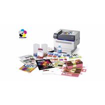 Impresora Láser Color A3+ Oki C941dn Tóner Blanco Y Laca