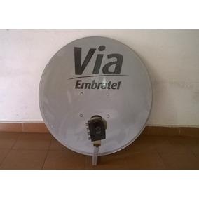 Antena Digital Via Embratel Com Ldf Para Quatro Aparelhos