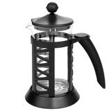 Cafetera Estilo Prensa Francesa 1000ml, Acero Inox/vidrio
