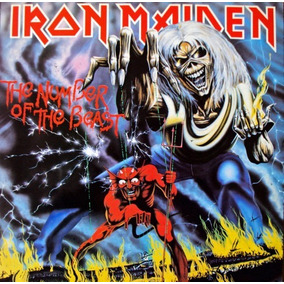 Cd Iron Maiden - The Number Of The Beast (99355)