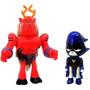 Ravena E Trigon Novos Titans Animated Série Jazwares