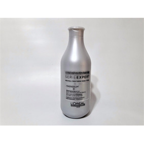 Shampoo Loreal Silver X 300 Ml Cabellos Grises Y Blancos
