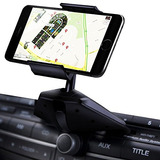 Ipow One Touch Instalación Cd Slot Smartphone Car Mount Hold