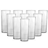 Kit 100 Copos Long Drink Transparente Acrílico Atacado
