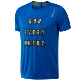 Remera Reebok De Running Essentials Hombre Az