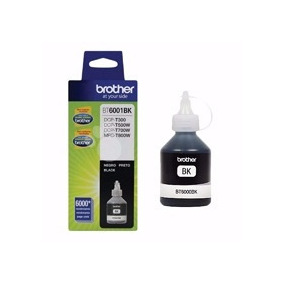 Botella Tinta Brother Color Negro Hasta 6 Mil Hojas