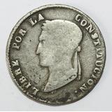 Antigua Moneda Bolivia 1856 4s Potosi