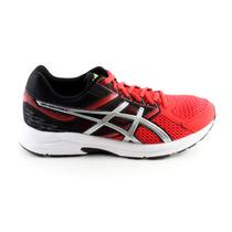 Tenis Asics Gel Contend 2 Running - Negro Con Rojo T5f4n