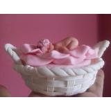 Baby Shower Topes De Torta En Masa Flexible