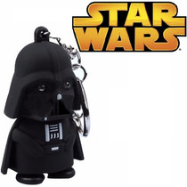 Chaveiro Darth Vader Star Wars Led Som Anakin Skywalker Jedi