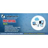 Pbx Virtual, Numero Did Colombia, 6 Extensiones, Sin Iva