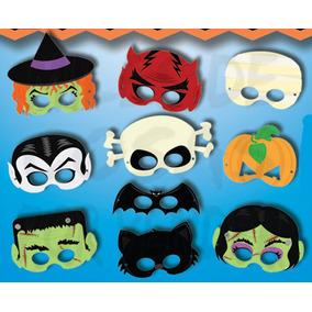 70 Mascaras Antifaces De Halloween Diablo Calavera Calabaza