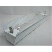 Calha C/ Refletor P/ Fluorescente Germicida Uv 15w - 45cm
