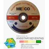 Disco De Corte Metco 7 Pulgadas Hierro Metales