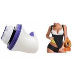 Massageador Elétrico Orbital Relaxe Spin 110v + Redu Shaper
