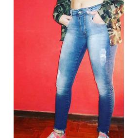 6 Jeans Elastizado Chupin Mujer. Venta Por Mayor