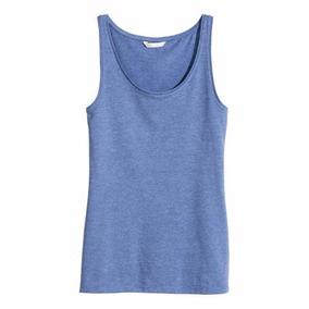 H&m Camiseta Talle S Remera Nueva Algodon Importada Gris